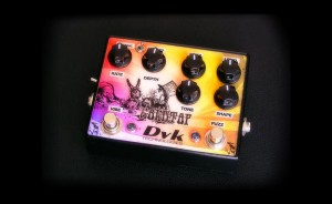 DVK Gold Top guitar pedal