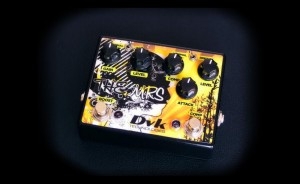 "DVK The Mrs ""2 in 1"" guitar pedal"