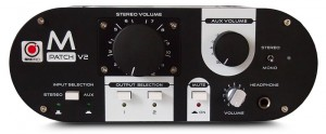 SM Pro Audio M-Patch V2 Passive Monotor Controller