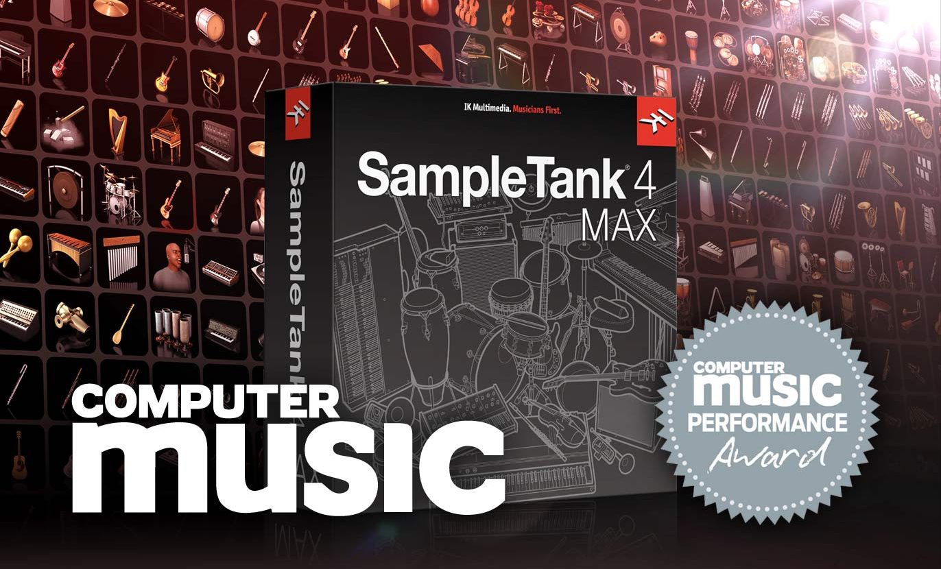 SampleTank 4 MAX wins Performance Award from Computer Music
