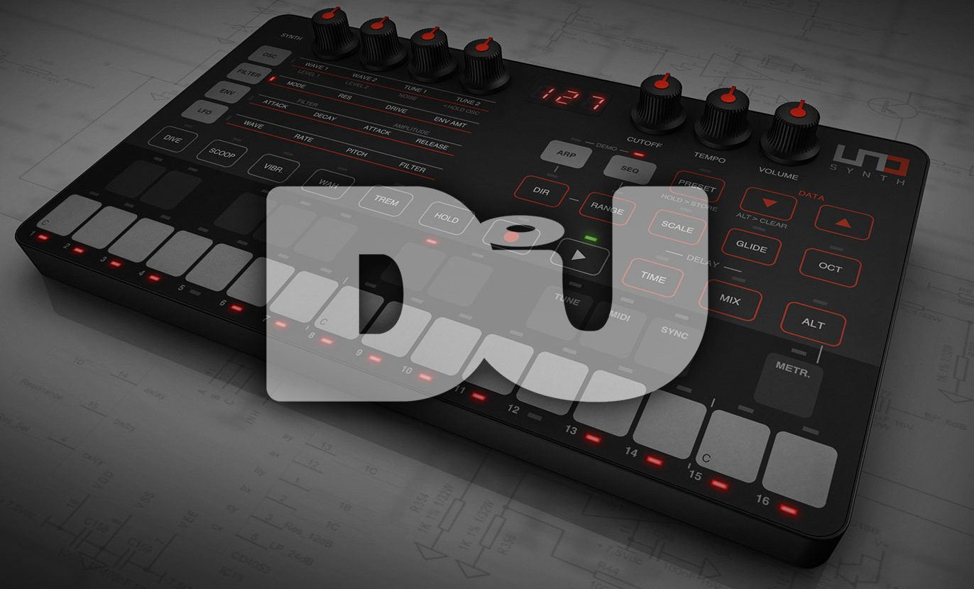 "DJ Mag on UNO Synth: ""A wicked sounding analog synth"""