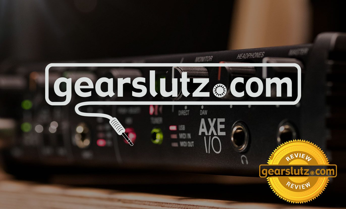 AXE I/O wins 5-Star Gold Award from Gearslutz