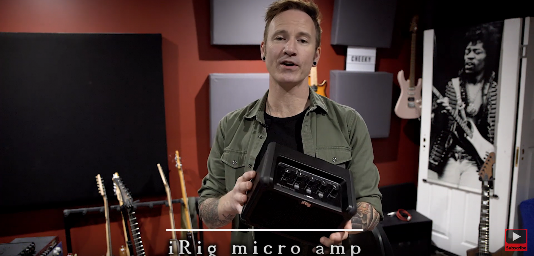 James Ryan checks out the new iRig Micro Amp from IK Multimedia