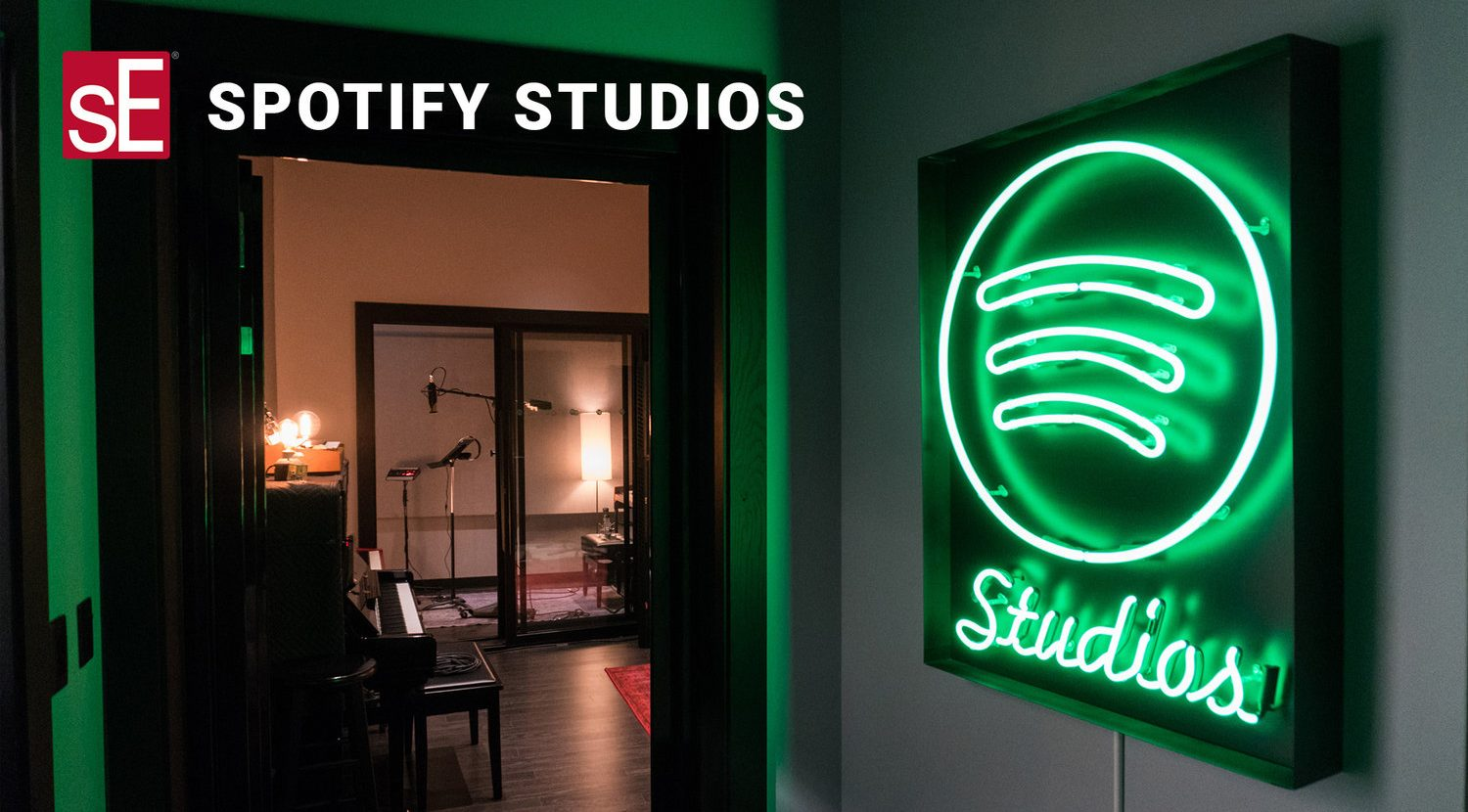 Spotify Studios and sE Electronics
