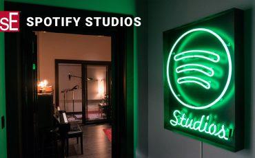 Spotify Studios and sE Electronics