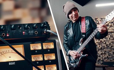 Joe Satriani on AXE I/O Reamping