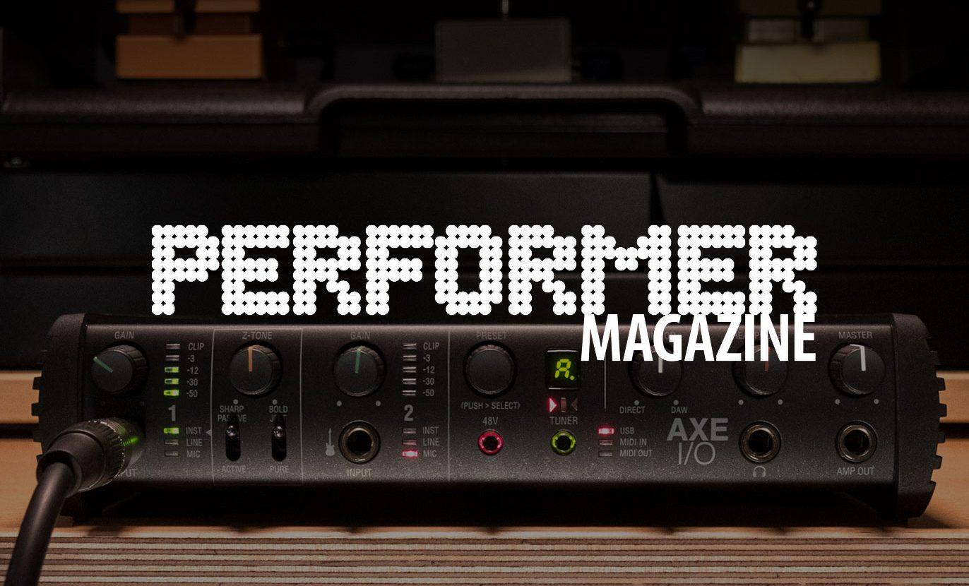 Performer Magazine Reviews AXE I/O