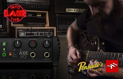 "Tune in to ""Recording Guitar with AXE I/O"" by Pensado's Place!"