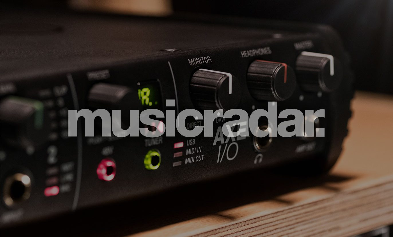 MusicRadar ranks AXE I/O the Best guitar interface right now