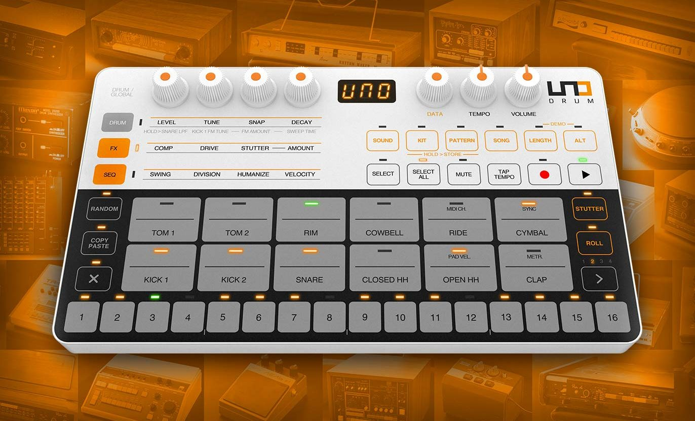 New UNO Drum Anthology Libraries