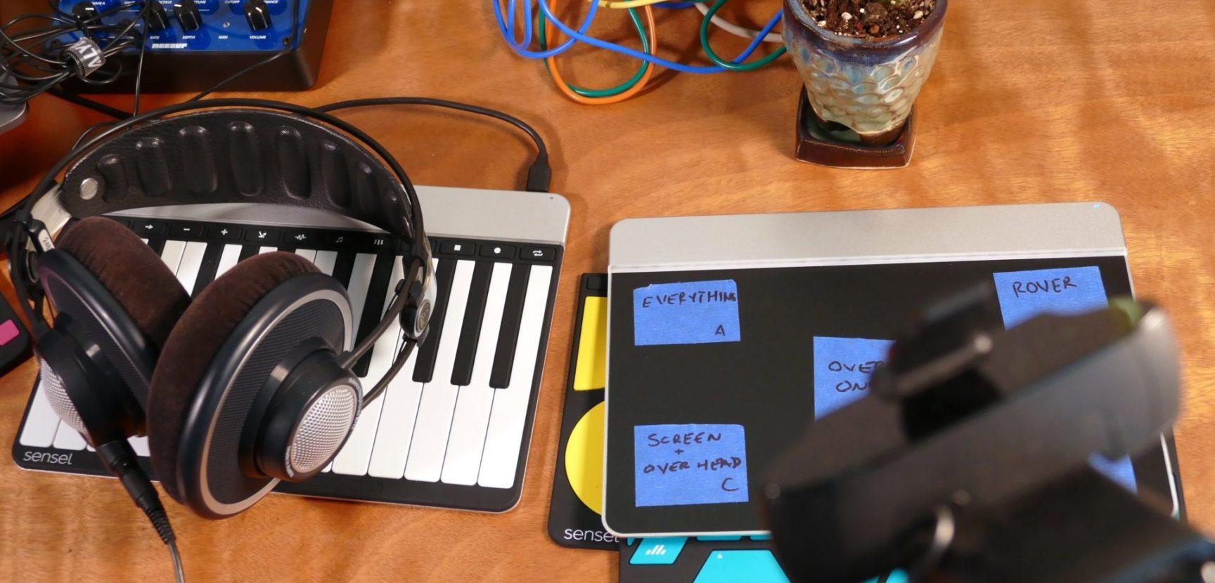 Adaptation Inspriation: Sensel Live Streams.