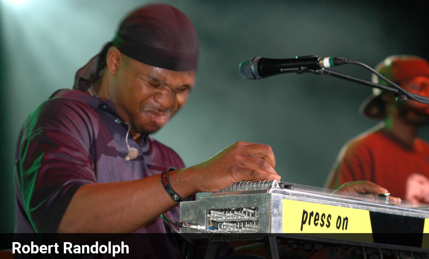 Robert Randolph and iRig Pro Duo I/O take on NASCAR