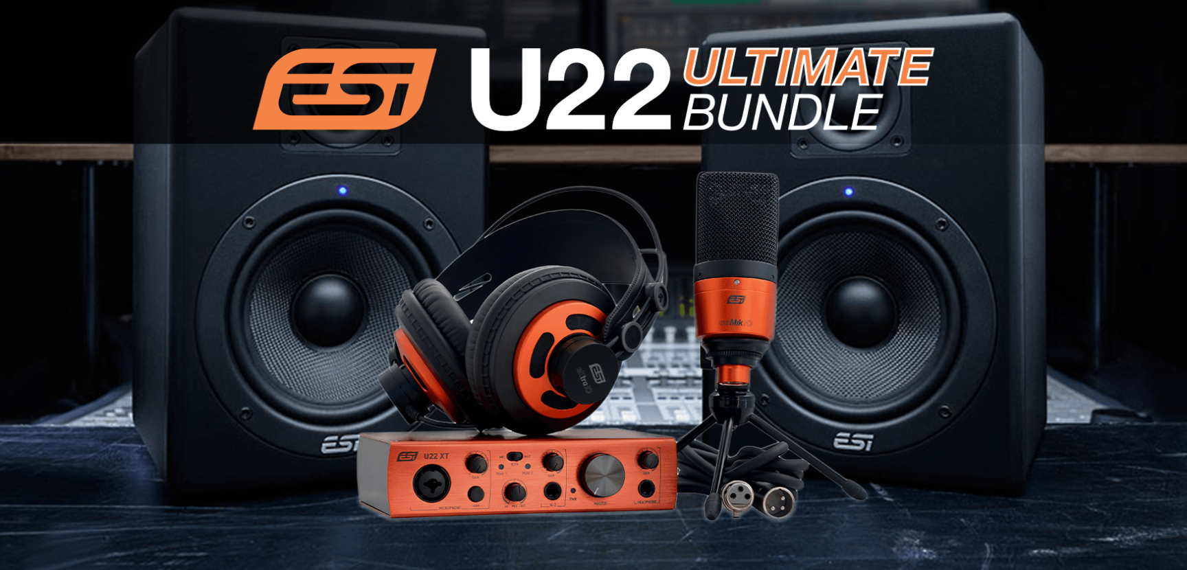Introducing the ESI U22 Ultimate Bundle