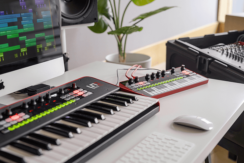 IK Steps Up Their Hardware Synth Game - Introducing the UNO Synth Pro series!